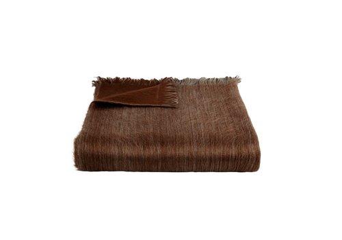 Bufandy Bufandy Alpaca Sjaal Fabian Doble rusty brown