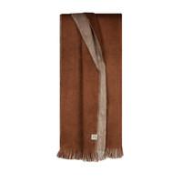 Bufandy Alpaca Sjaal Fabian Doble rusty brown
