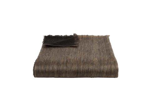 Bufandy Bufandy Alpaca Sjaal Fabian Doble black & sandstone