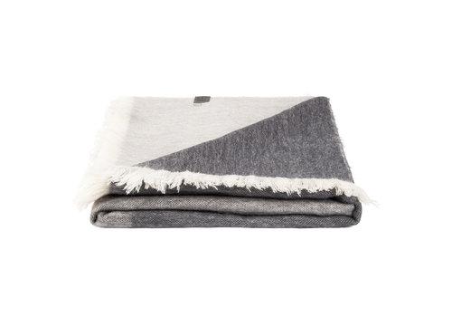 Bufandy Bufandy Alpaca Sjaal Fabian Ombre grey marble