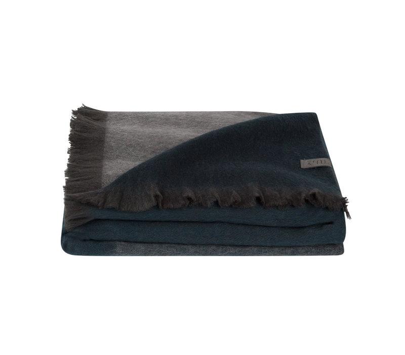 Bufandy Alpaca Sjaal Fabian Ombre State blue