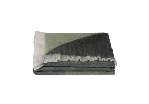 Bufandy Copy of Bufandy Alpaca Sjaal Fabian Ombre Moody green