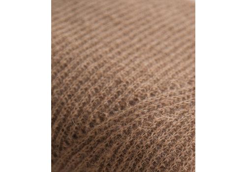 LesElles Knitwear Sjaal Jille sugar cane brown