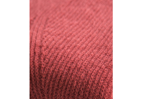 LesElles Knitwear Sjaal Jille fire brick