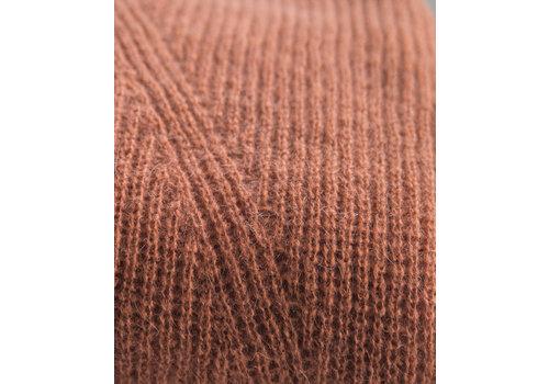 LesElles Knitwear Sjaal Jille rusty brown