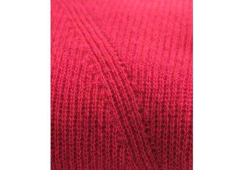 LesElles Knitwear Sjaal Jille lipstick red
