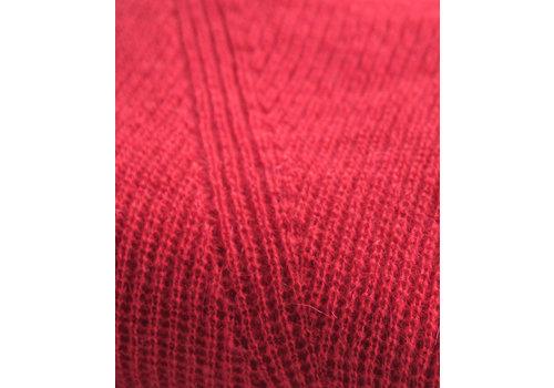 LesElles Knitwear Copy of LesElles Knitwear Shawl redorange