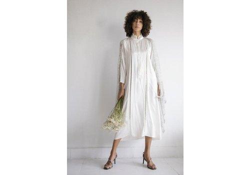 Leselles Knitwear Leselles knitwear sjaal Alice grey marble