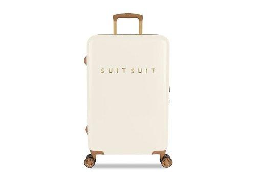Suitsuit FAB SEVENTIES  ANTIQUE WHITE · REISKOFFER (66 CM)