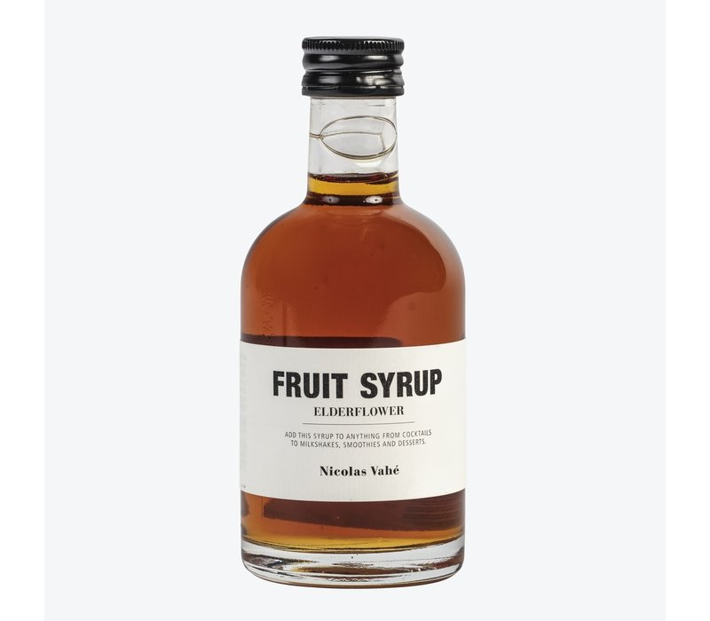 Nicolas Vahé Fruit Syrup Elderflower