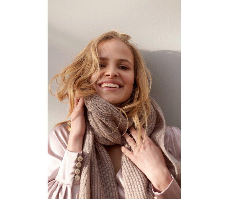Sjaal Jille pink seashell