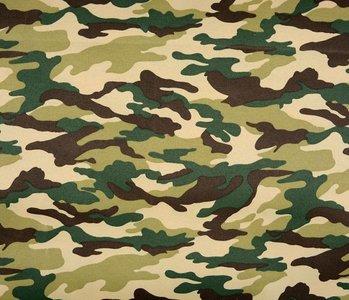 Army Polyester Baumwolle Grün-Braun