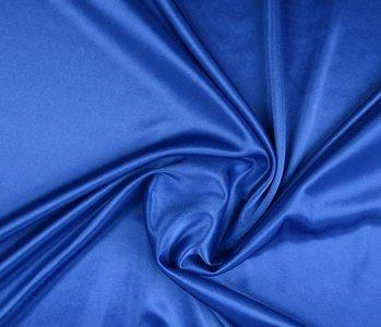 Charmeuse Voering Konings Blauw