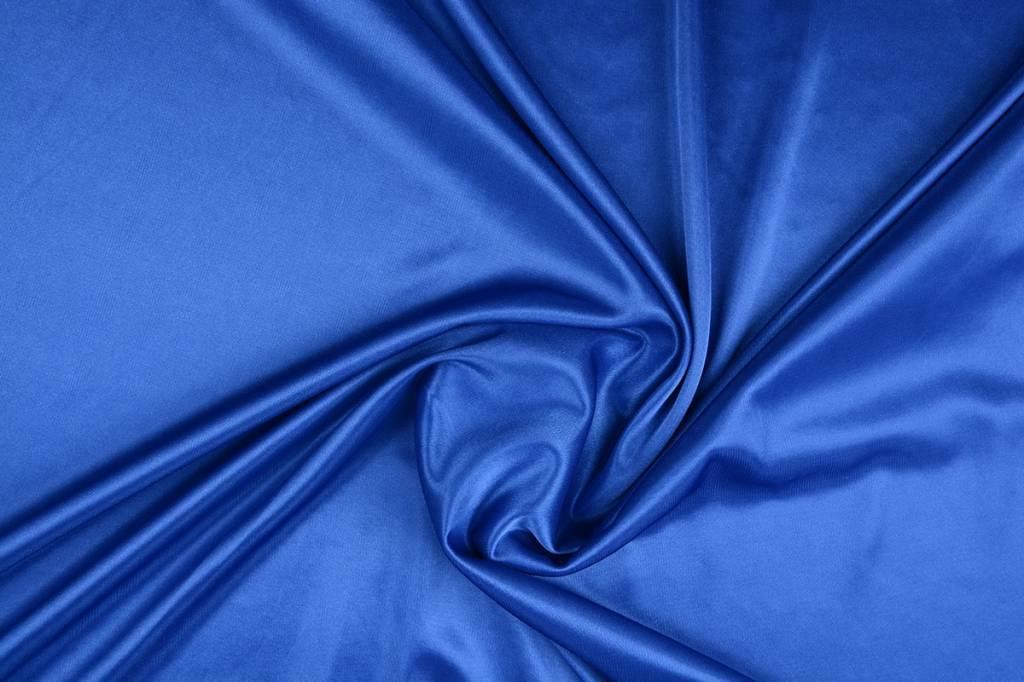 Charmeuse FutterKönigs Blau