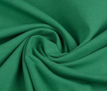 Oeko-Tex®  Jersey Stoff Baumwolle Grün