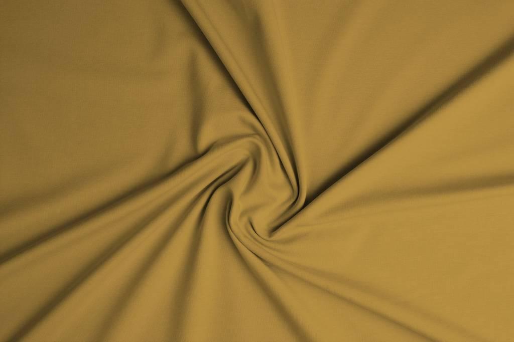 Oeko-Tex®  Cotton Jersey Oker