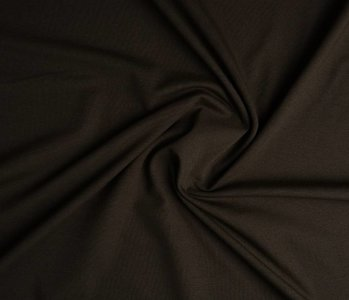 Oeko-Tex®  Cotton Jersey Dark brown