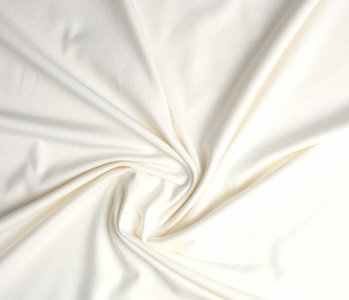 Oeko-Tex®  Jersey Stoff Baumwolle Creme