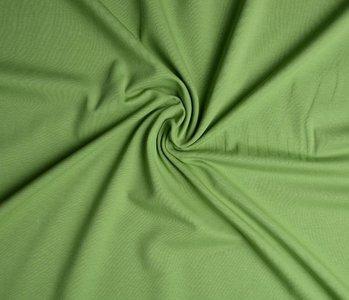 Oeko-Tex®  Jersey Stoff Baumwolle Licht mosGrün