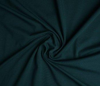 Oeko-Tex®  Jersey Stoff Baumwolle Dunkel Petrol