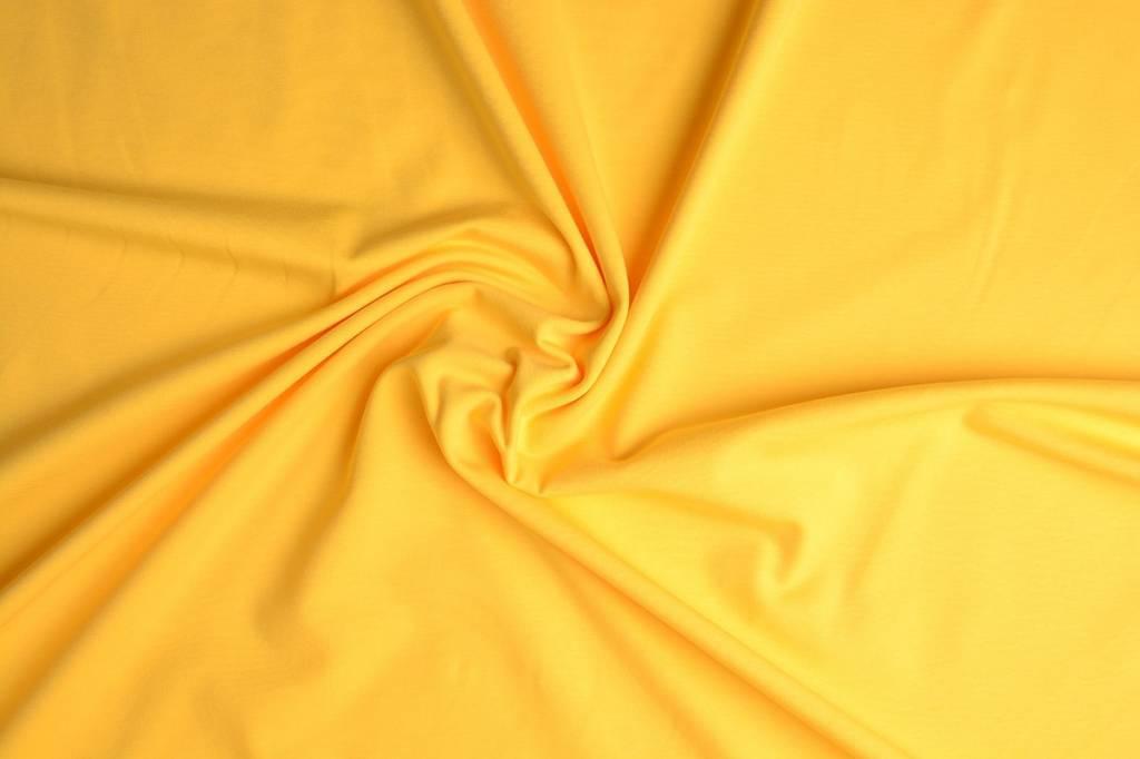 Oeko-Tex®  Cotton Jersey Citroen Geel