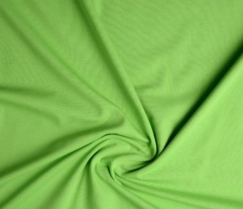 Oeko-Tex®  Jersey Stoff Baumwolle Lime