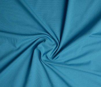 Oeko-Tex®  Cotton Jersey donker aqua