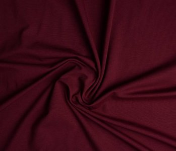 Oeko-Tex®  Cotton Jersey Dark red