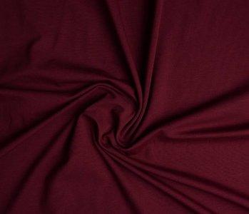 Oeko-Tex®  Cotton Jersey Donker rood