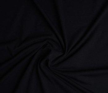 Oeko-Tex®  Jersey Stoff Baumwolle Schwarz