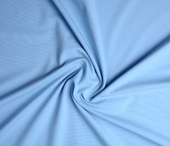 Oeko-Tex®  Jersey Stoff Baumwolle Baby Blau