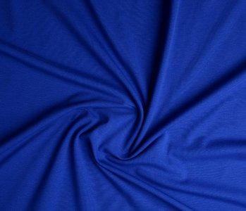 Oeko-Tex®  Jersey Stoff Baumwolle Kobalt Blau
