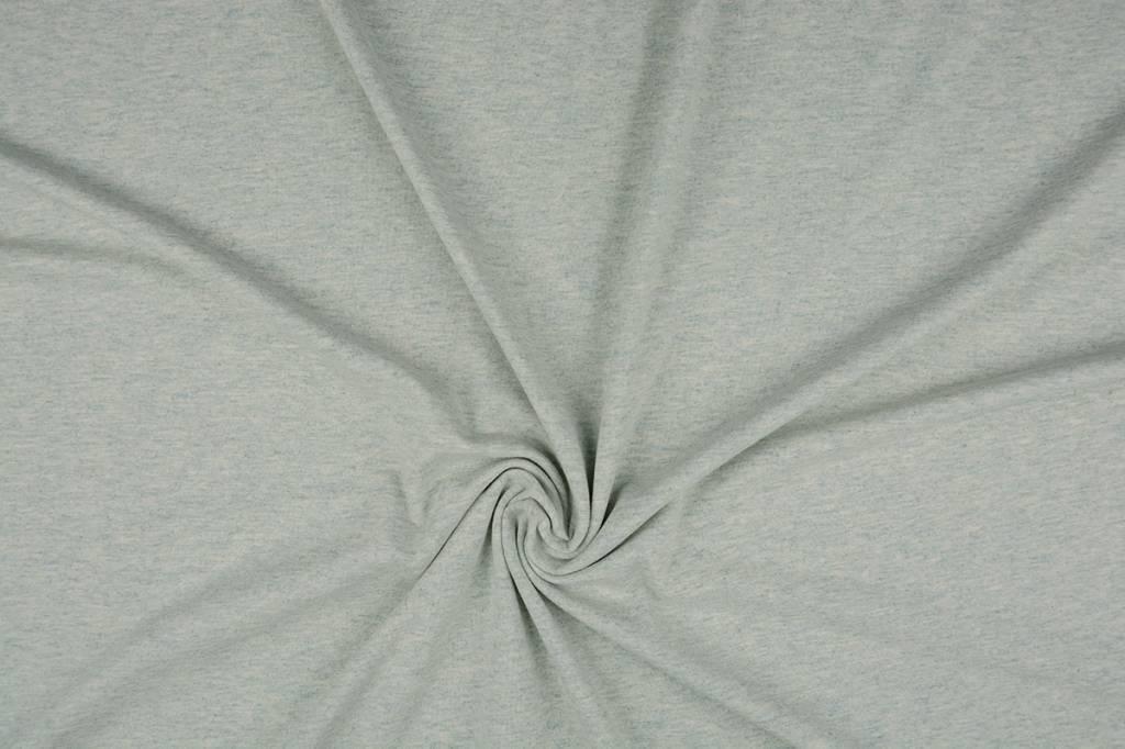 Oeko-Tex®  Cotton Jersey Pistache Melange