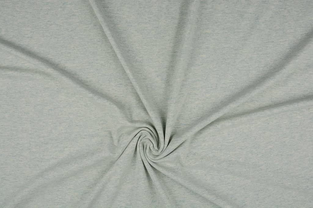 Oeko-Tex®  Jersey Stoff Baumwolle Pistache Meliert