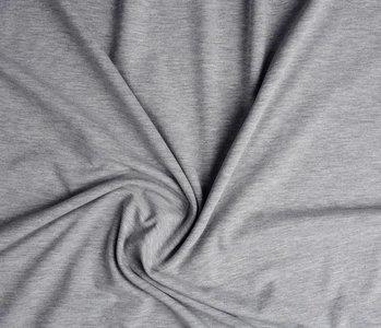 Oeko-Tex®  Cotton Jersey Licht grijs Melange