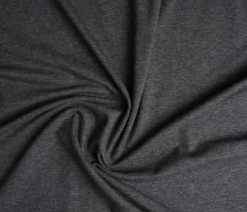 Oeko-Tex®  Cotton Jersey Dark grey Melange
