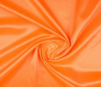 Crêpe Satin Fluor orange