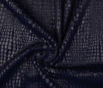 Fur Snake Foil Shiny Marine