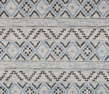 Knitted Jacquard Baby blue