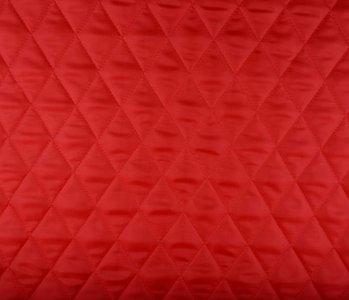 Steppfutter Wattiert Rot