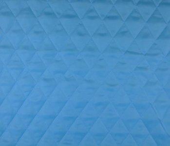 Quilted Lining Aqua