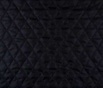 Quilted Lining Black