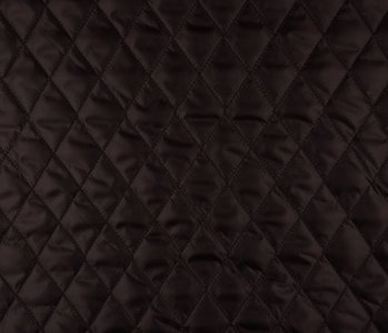 Quilted Lining Dark brown