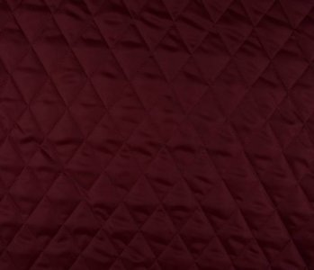 Quilted Lining Dark red