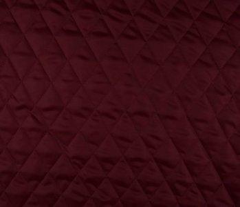 Steppfutter Wattiert Dunkel Rot