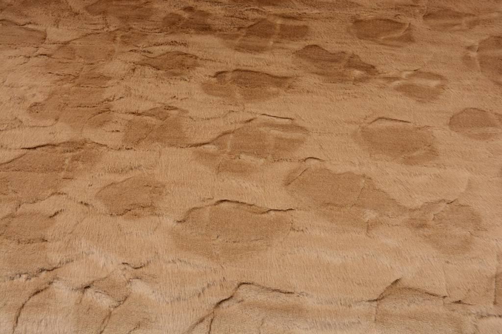 Nachahmung Pelzigen Stoff Licht camel