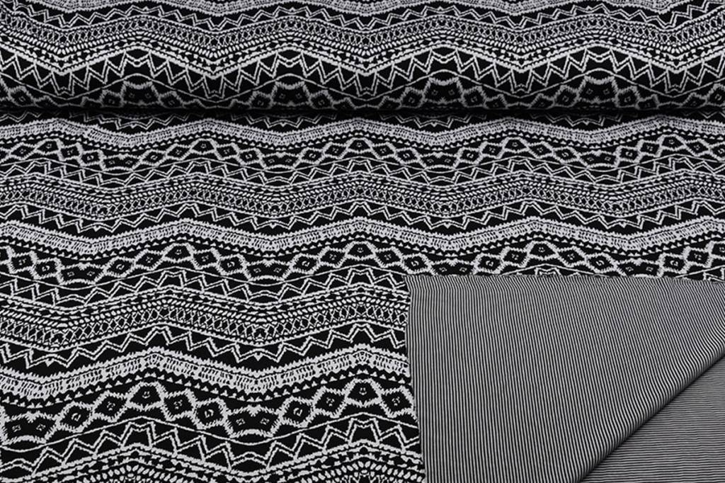 Jersey Double Face Jacquard -02