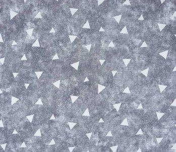 Jogging Alpenfleece Driehoek met schaduw grijs