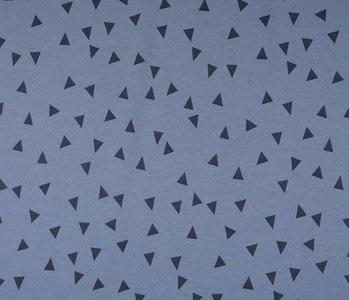 SweatStoff Alpenfleece Kleine Dreieck Jeans
