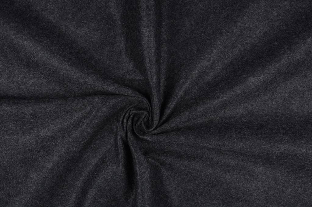 Korean Filz 1 mm Grau Meliert